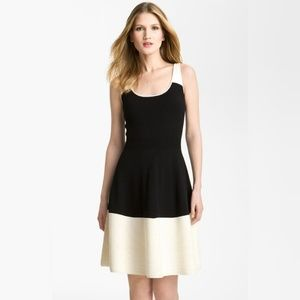 Kate Spade Constance dress colorblock wool sweater